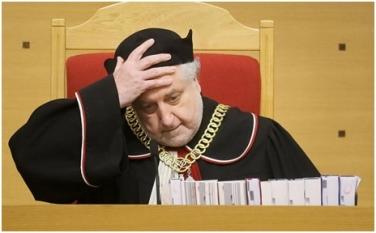 President of the Polish Constitutional Tribunal, Andrzej Rzepliński (Photo: Polska Agencja Prasowa/Paweł Supernak)